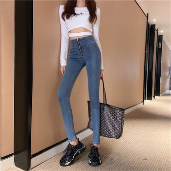 Streetwear Woman High Waist Skinny Push Up Tight Jeans Jeggings Sexy Denim Pencil Jeans Pants Vaqueros Mujer Pantalones 2017 jeans femme taille basse elastic waist jeggings jeans mujer push up slim skinny women high stretch legging pencil pants