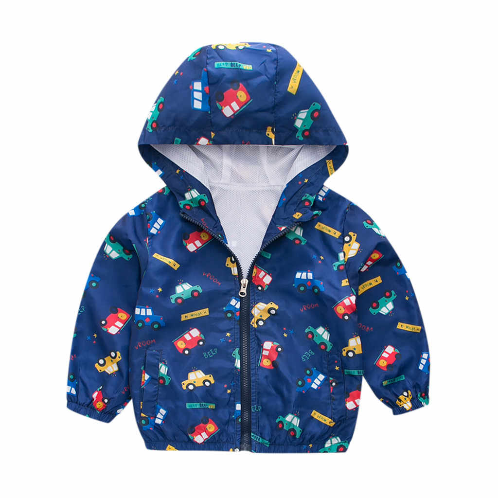 TELOTUNY Toddler Baby Kids Boys girls Hooded Windproof Coat Outwear hoody child Hooded jacket casual Clothes ZA15