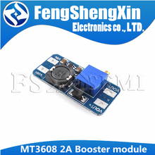 5Pcs MT3608 Module DC DC Step Up Converter Booster Voedingsmodule Boost Step Up Board Max Output 28V 2A