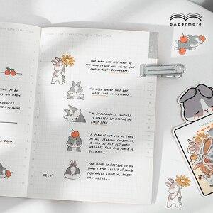Image 4 - Infeel. me girlhood diário papel adesivo scrapbooking decoração etiqueta 1 lote = 18 pacotes atacado