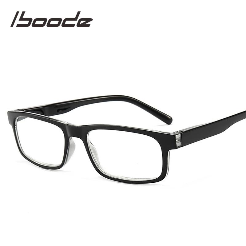 Iboode Unisex Reading Glasses Anti Blue Light Blocking Eyeglasses Anti Fatigue Presbyopic Eyewear For Men Women +1.0 1.5 2.0 2.5