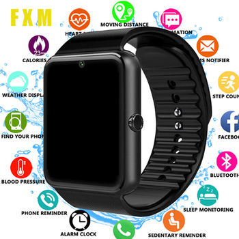 the mens' watches GT08 Clock Sync Notifier Support Sim TF Card Bluetooth Connectivity Android Phone Smartwatch Alloy Smart clock smart watch man clock support sim tf card sync notifier bluetooth connectivity phone men s alloy new smartwatch for android ios