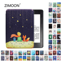 Amazon Kindle Paperwhite Caso Tampa Inteligente para Kindle 10th 4 Hard Case para Kindle Paperwhite/3/2 de Cobertura de Impressão para kindle 8th