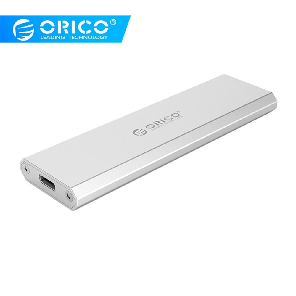 ORICO NVME Enclosure Support UASP 10Gbps M2 SSD Case M.2 To USB Type C 3.1 SSD Adapter For 2230 2242 2260 2280 Nvme M.2 SSD