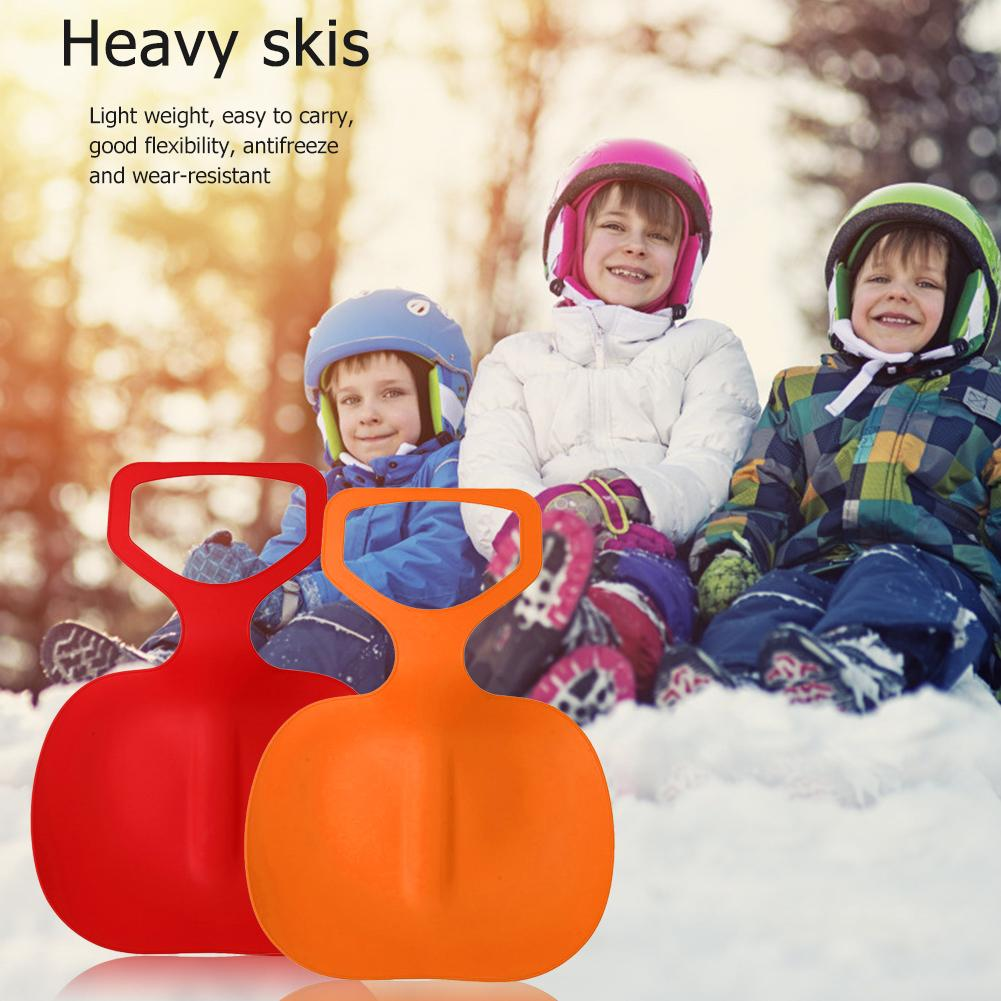 Details about  /1PC Winter Sports Snow Sled Sledge Skiing Board Outdoor Sand Grass Sleigh Slider
