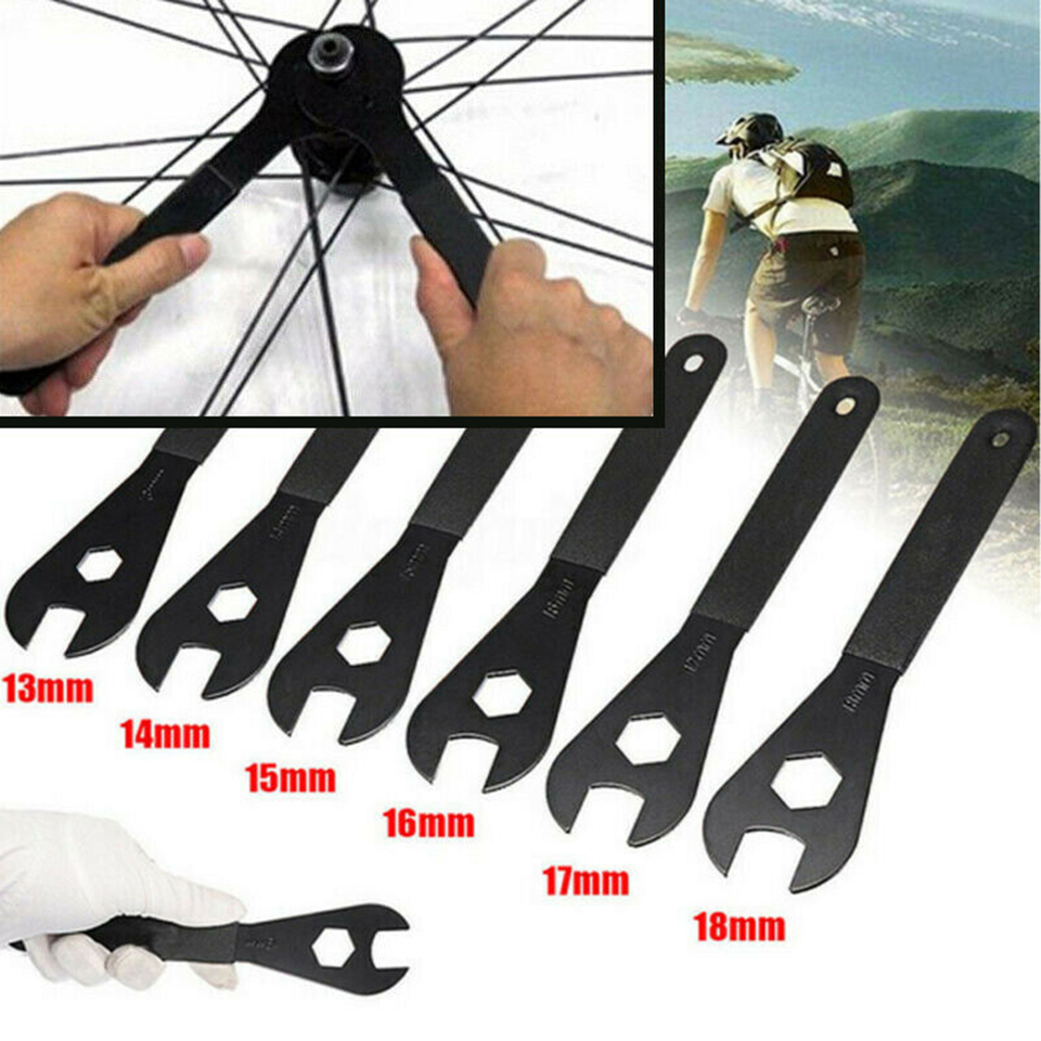 1pc Bike Bicycle Wheel Axle Hub Cone Wrench Pedal Spanner Tool 13//14//15//16mm