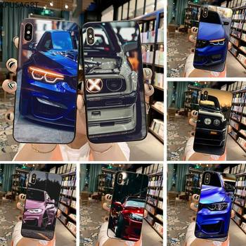 Blue Red Car for Bmw black Phone Case Hull for iphone 12 pro max 11 pro XS MAX 8 7 6 6S Plus X 5S SE 2020 XR case image