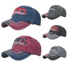 Snapback Hat Denim Baseball-Caps Hip-Hop cap Letter-Printing Embroidered Fashion Casquette