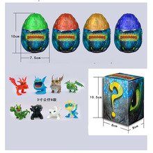 NEW 2019 How to Train Your Dragon egg Light Fury Toothless Action figure Hiccup White Toys For Childrens Birthday Gifts