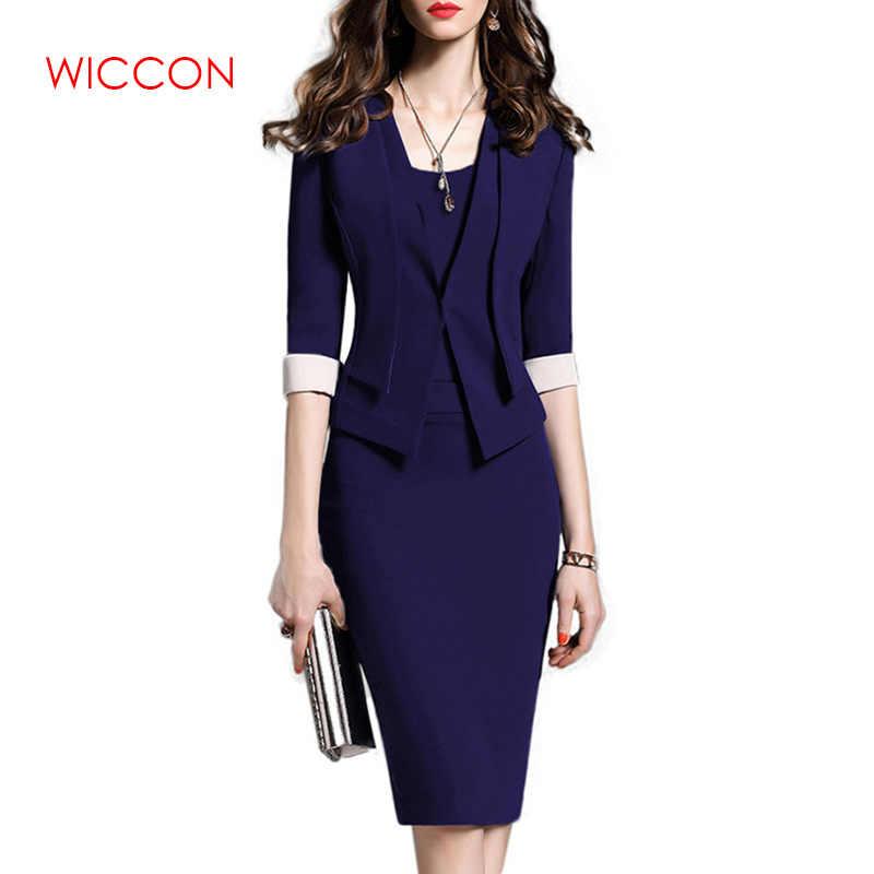 Trajes de mujer para ropa de oficina traje de fiesta