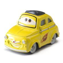 4-6cm 24pcs/lot Disney Pixar Cars 3 Lightning McQueen Mater Jackson Storm Ramirez 1:55 Diecast ABS Car Model Toy Gift for Boys cars disney pixar cars 3 track parking lot lightning mcqueen mater plastic diecasts toy vehicles model car toys for children