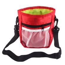Переносная сумка для закусок собак Экологически чистая большая