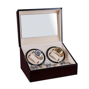 6+4 Fashion Automatic Watch Winder Holder Display for Mechanical Watch Motor Shaker Winding Box High Class Watches Box