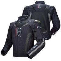 Motorcycle Jacket Mesh Breathable Riding Men Women Racing Motorbike Clothing Titanium Alloy Protective Clothing