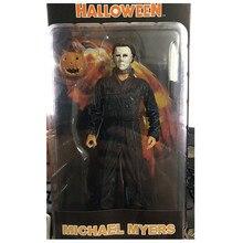 18cm caliente de la final de Michael Myers PVC figura de acción de colección modelo juguetes de Halloween para regalo