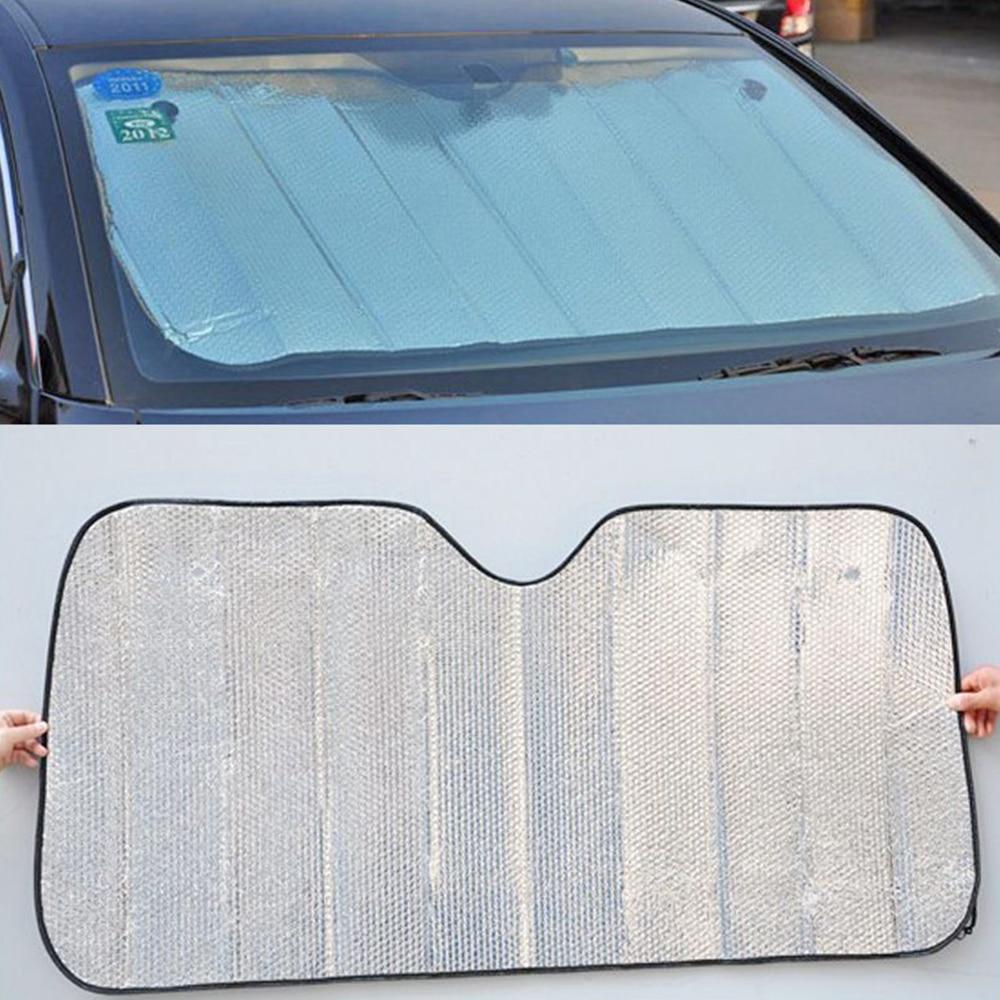 Windshield Silver-Cover Aluminum-Foil Front-Window Universal Auto-Film Car-Sun-Block
