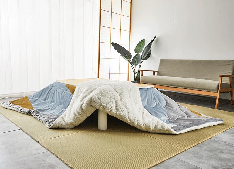 (4 шт/компл) Японский Стиль набор kotatsu прямоугольный стол