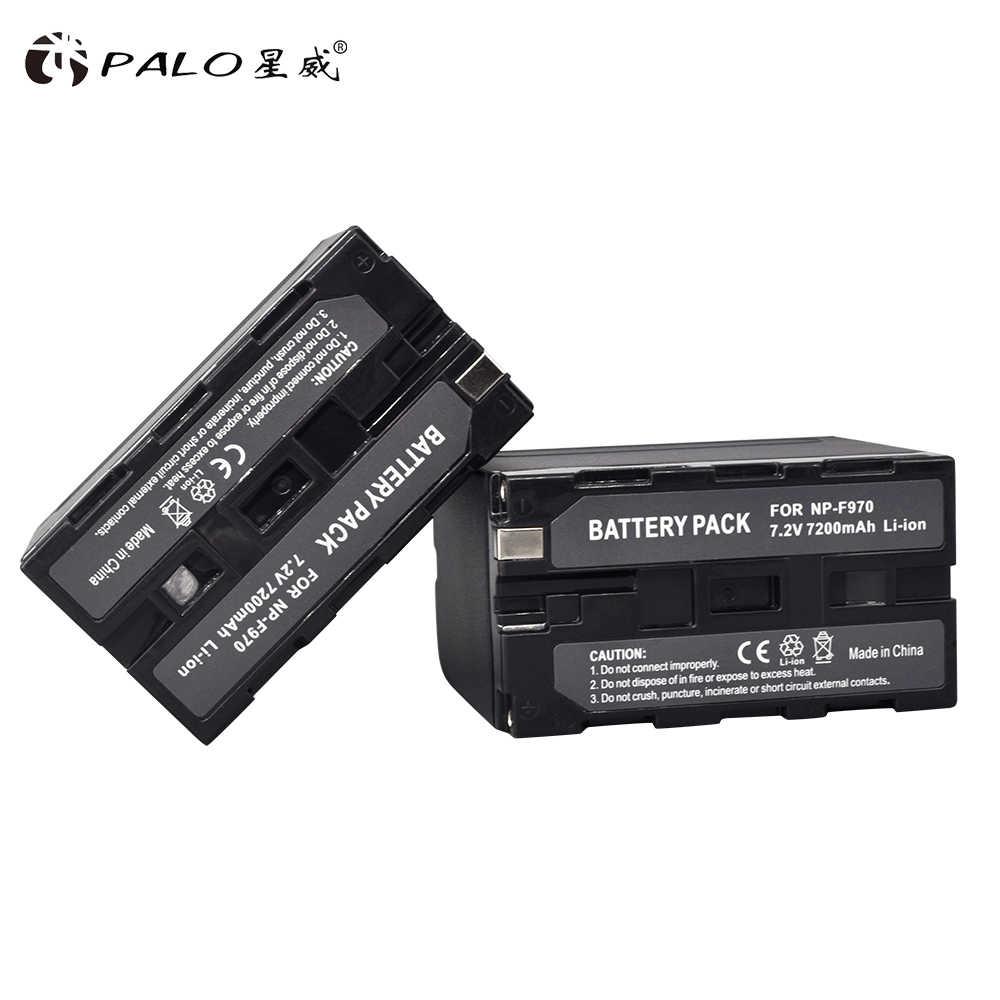 4 шт. 7200 мА/ч, NP-F960 NP-F970 NP F960 NP F970 Аккумулятор для видеокамер для sony NP-F550 NP-F770 NP-F750 NP F770 NPF960 NPF970 оптовая продажа