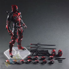 Play Arts Kai Deadpool Winston Wilson X men 1/6 Figure Statue Toy Collection In Box 26cm wolverine figure logan x men x men play arts kai wolverine james logan howlett play art kai pvc action figure