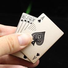 Покерная ветрозащитная надувная Бутановая металлическая зажигалка