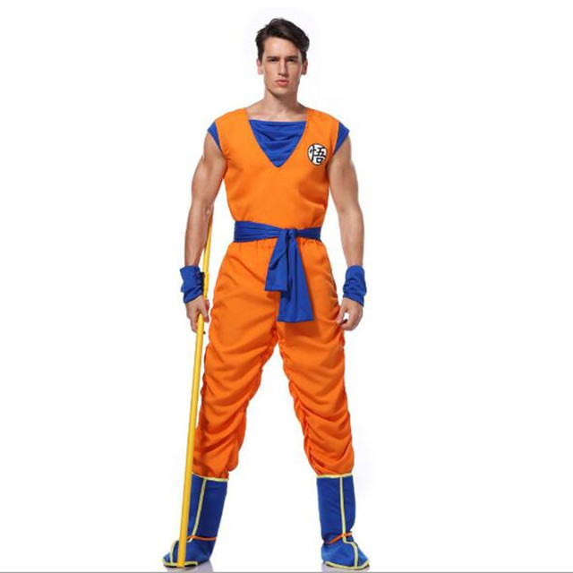 Dragon Ball Z Goku Cosplay Costumes For Adult
