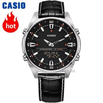 Casio Часы для мужчин лучший бренд класса люкс набор кварцевые часы 50 м водонепроницаемые мужские часы спортивные военные часы relogio masculino AMW-830L