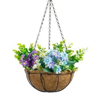 Decorative Hanging Coconut Flower Pot