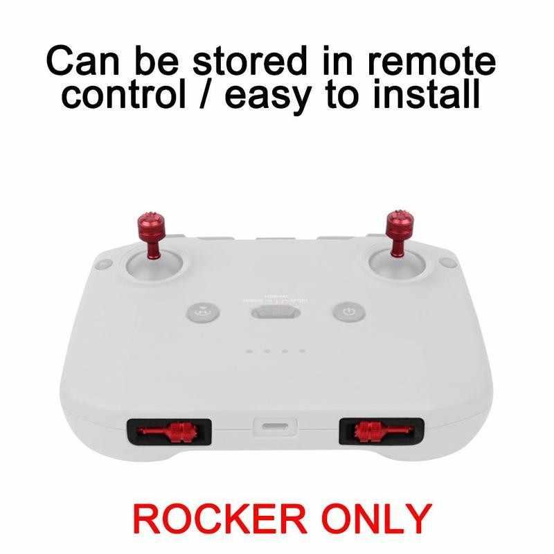 Adjust Remote Controller Joystick Spares Alloy Thumb Rockers for DJI Mavic Air 2