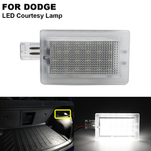 1pcs Clear LED Trunk Luggage Compartment Trunk Lid Courtesy Door Lamp For DODGE Stratus Magnum Charger Challenger Chrysler 200