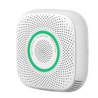 FFYY Tuya Wifi Gas Leak Detector Fire Security Alarm Safety Smart Home Leakage Lpg Sensor Combustible EU Plug|Sensor & Detector| |  -