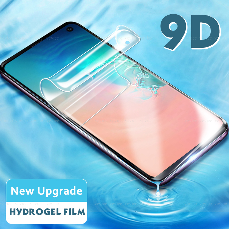 9D HD Hydrogel Film For Samsung Galaxy A7 2018 Note 9 8 10 screen protection For