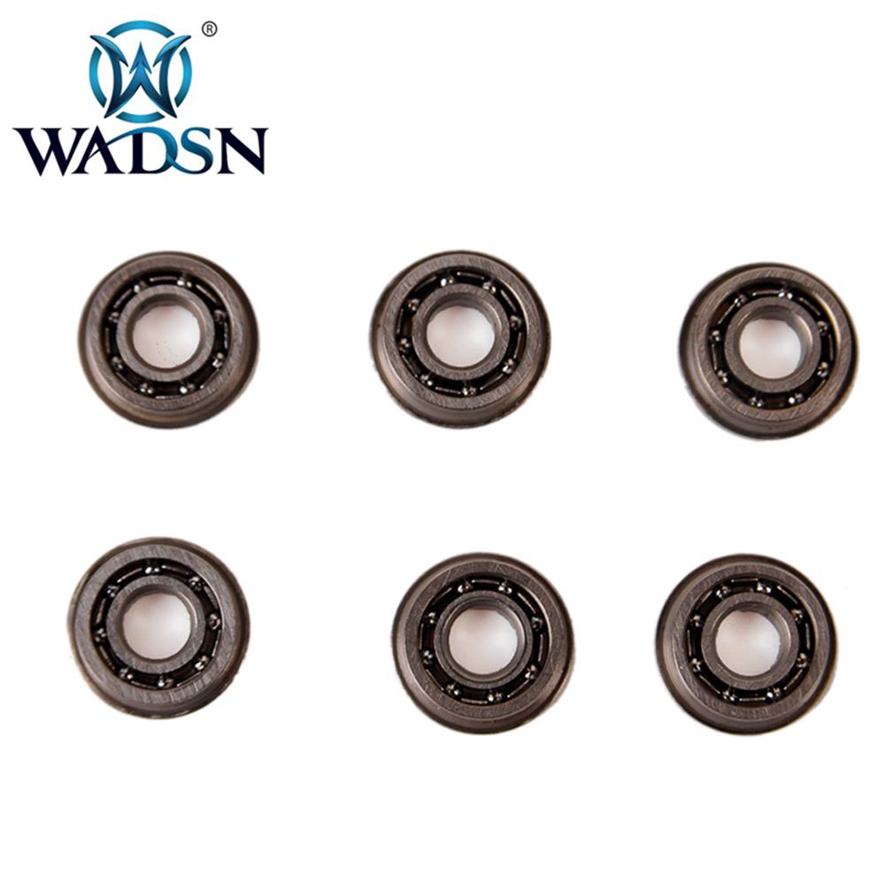 WADSN 7 MM Stainless Steel High Precision Ball Bearing For Airsoft AEG Gearbox Tactical Bearings FB06007 Paintball Accessories