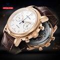 Seagull механические часы 40 мм Высокое качество часы руководство для мужчин бизнес часы водонепроницаемые механические часы D819.629