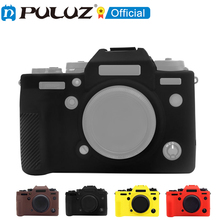 PULUZ Soft ซิลิโคนป้องกันกรณีสำหรับ Fujifilm X T4 / X A3 / X A10/X A5เปลือกป้องกันกรณี