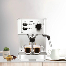 Italian Coffee Semi-automatic Coffee Machine Pump Type Espresso Household and Commercial One Machine Steam Foam System