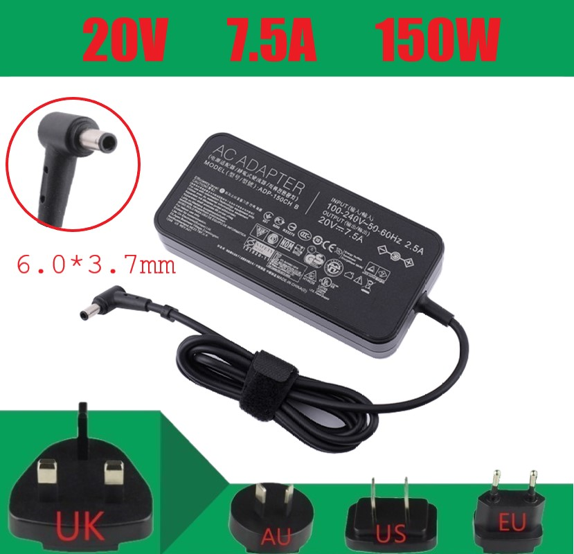 New Genuine  20V 7.5A 150W Laptop Charger For ASUS FX95G/D ADP-150CH B Flying Fortress 7th Generation FX95G FX505GT FX95GT