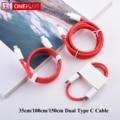 Original Oneplus 8 T 8 T Warp Ladung Typ C Zu Typ C Kabel 6,5 EINE Schnelle Gebühr Für Eine plus 8 7 Pro 7t 6t 6 5t 5 3t 3 65W Dash Draht