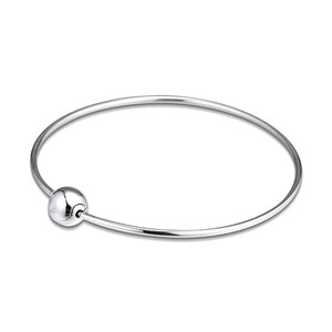 Image 1 - Me Collection Women Bracelets Signature Round Clasp 925 Sterling Silver Bracelets & Bangles for Women Charm Jewelry Thin Chain