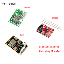 Charging-Board TP5100 Double-Lithium-Battery Power-Supply 2A 5pcs 1A Compatible Single