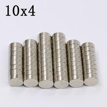 200/500Pcs 10x4 Neodymium Magnet…