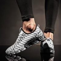 Новая мужская камуфляжная сетка дышащая легкая дышащая Спортивная обувь впитывает влагу быстросохнущие кроссовки тренд дикая мужская пов...