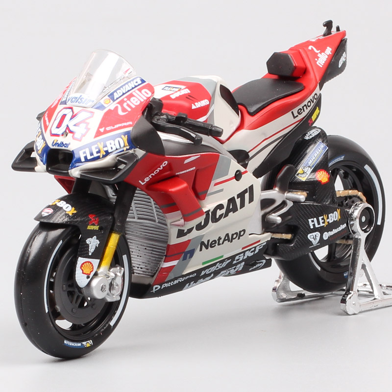 Maisto 1:18 Scale Ducati Desmosedici RR GP15 GP18 No.04 Andrea Dovizioso Motorcycle Racing Moto Bike Diecasts Model GP Toys 2018