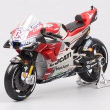 Maisto 1:18 scale Ducati Desmosedici RR GP15 GP18 No.04 Andrea Dovizioso motorcycle racing moto bike Diecasts model GP Toys 2018