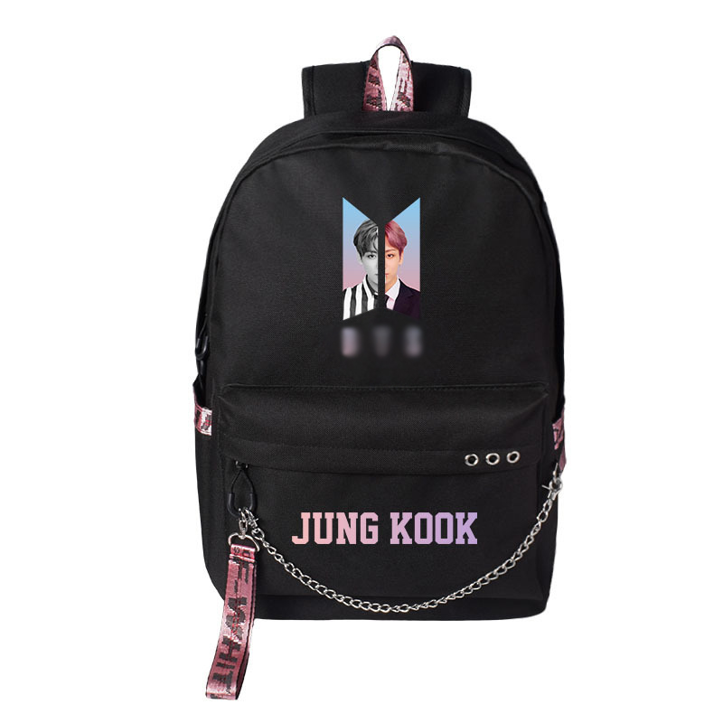 Bangtan Boys USB Charge Backpacks