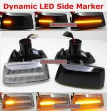 2 Stuks Dynamische Led Side Marker Richtingaanwijzer Sequential Blinker Voor Opel Insignia Astra H Zafira B Corsa D voor Chevrolet Cruze