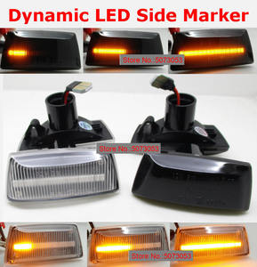 Image 1 - 2pcs Dynamic LED Side Marker Turn Signal Light Sequential Blinker For Opel Insignia Astra H Zafira B Corsa D For Chevrolet Cruze