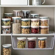 Boîtes de rangement scellées, boîtes de stockage de céréales, boîtes de rangement d'aliments de cuisine, organisateurs à domicile, collations, bonbons, organisateurs