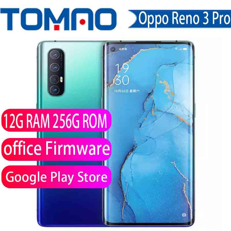 "New Original Oppo Reno 3 Pro 5G SmartPhone 6.5"" Snapdragon 765G Octa Core 12G RAM 256G ROM 5 Cameras VOOC Screen Fingerprint|Cellphones| - AliExpress"