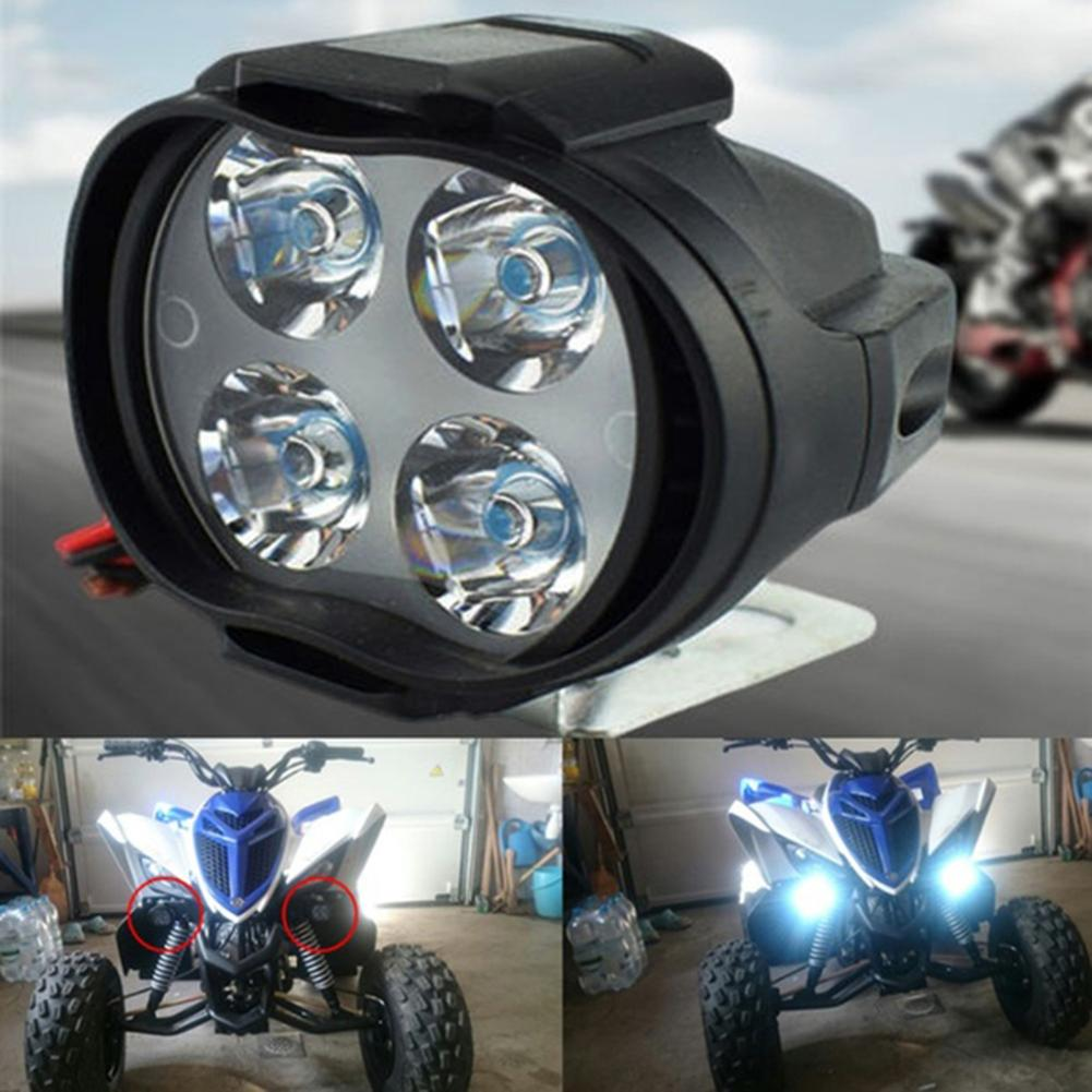 2019 2Pcs/Set 4 LED Motorcycle Scooter Headlight Front Light Turn Signal Lamp Bulb