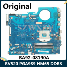 Laptop Motherboard Samsung Rv520 DDR3 for Ba92-08190a/Ba92-08190b/Pga989/.. LSC